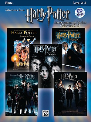 Selections From Harry Potter Instrumental Solos (Movies 1-5) By Alfred Publishing (COR)